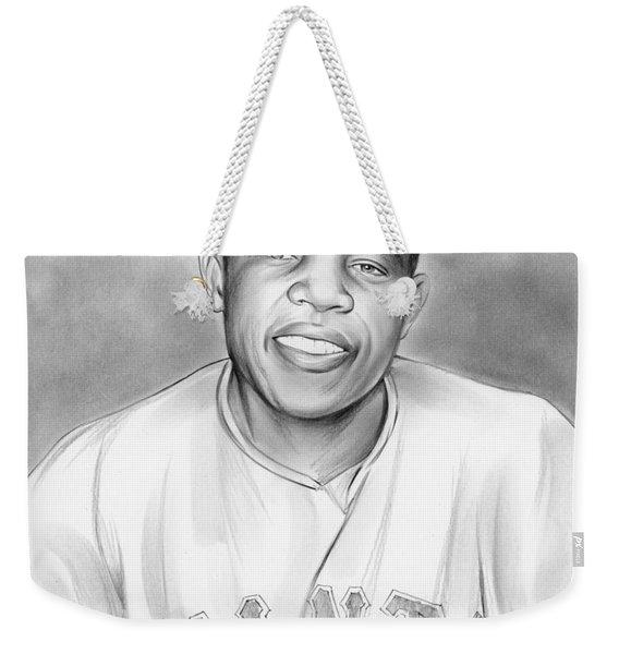 Willie Mays Weekender Tote Bag