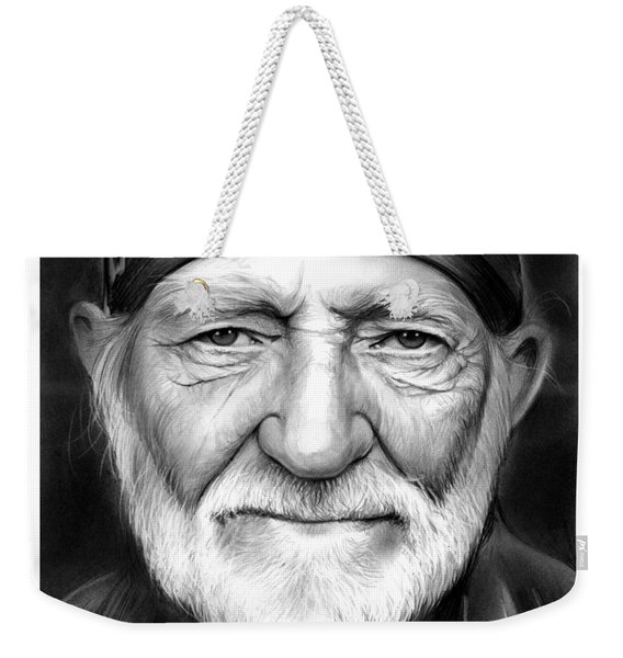Willie Nelson Weekender Tote Bag