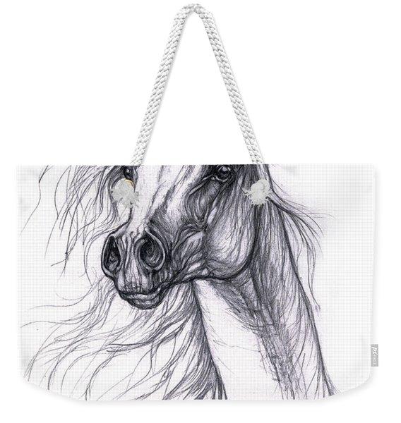 Wind In The Mane 2 Weekender Tote Bag