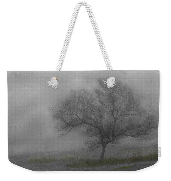 Wind Swept Tree Weekender Tote Bag