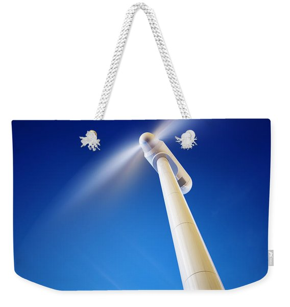 Wind Turbine From Below Weekender Tote Bag