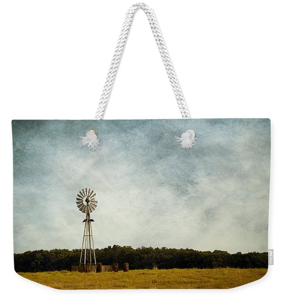 Windmill On The Farm Weekender Tote Bag