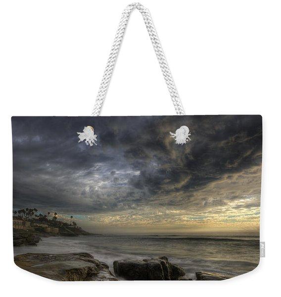 Windnsea Light Found Weekender Tote Bag