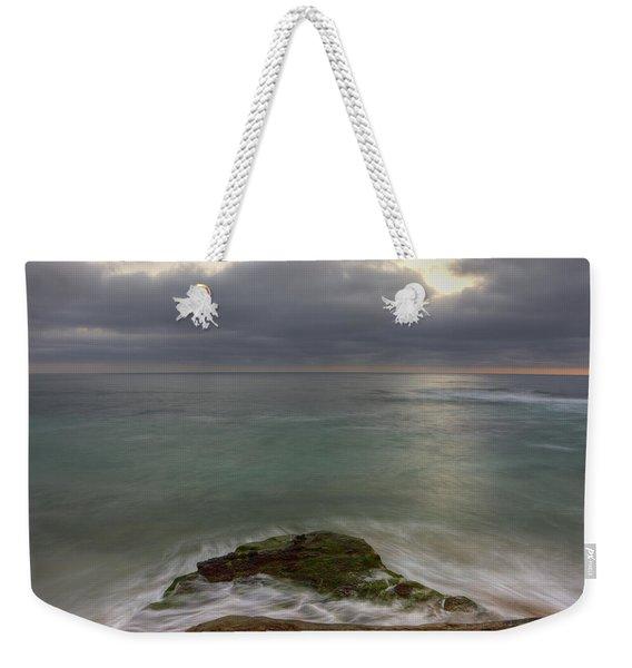 Windnsea Point Sq Weekender Tote Bag