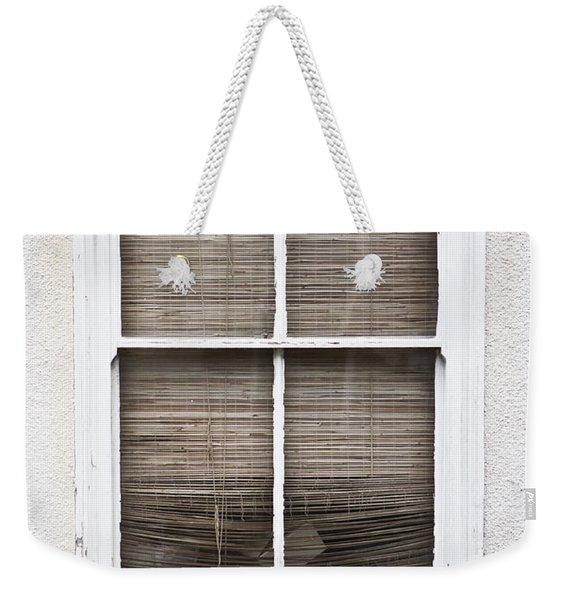 Window And Blind Weekender Tote Bag