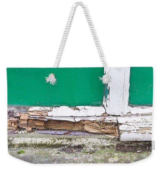 Window Frame Rot Weekender Tote Bag