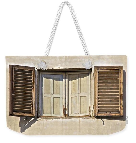 Window Of Tuscany Weekender Tote Bag