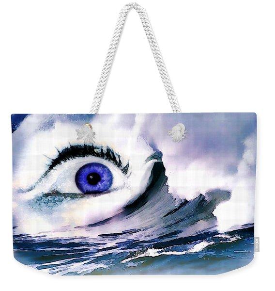 Window Of Your Soul Weekender Tote Bag
