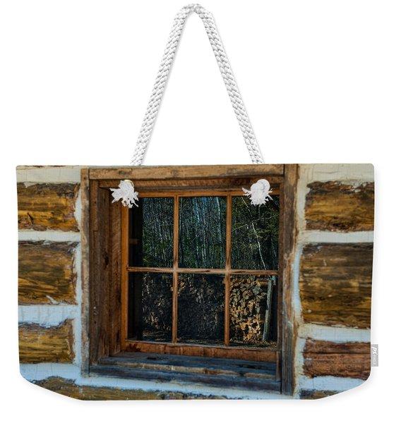 Window Reflection Weekender Tote Bag
