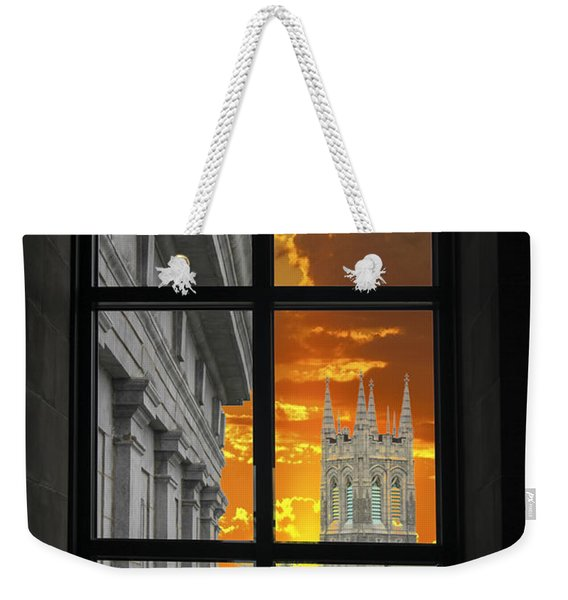 Window Series 03 Weekender Tote Bag