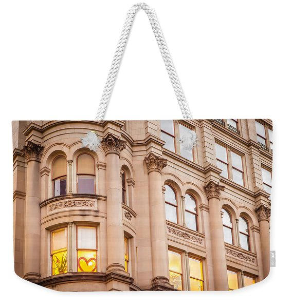 Window To My Heart Weekender Tote Bag
