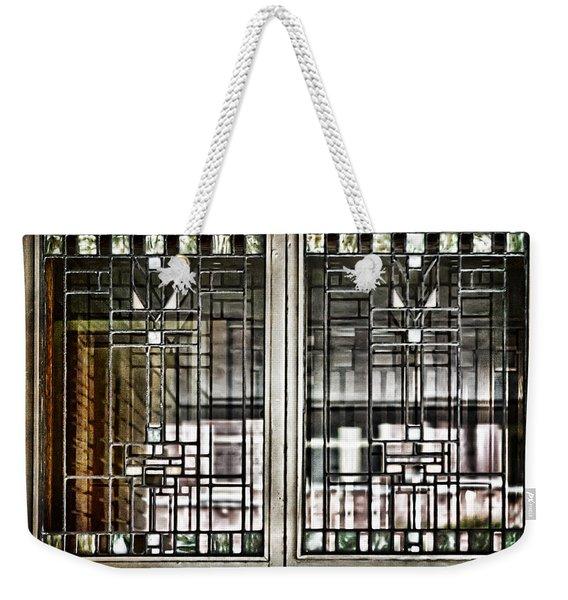 Windows Of A Prairie House  Weekender Tote Bag