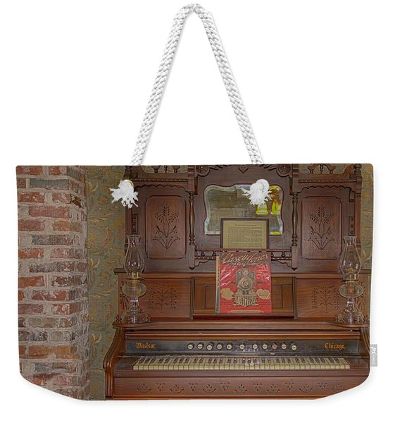 Windsor Pump Organ Weekender Tote Bag