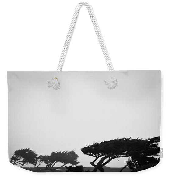 Windswept Shoreline Weekender Tote Bag