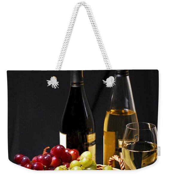 Wine And Grapes Weekender Tote Bag