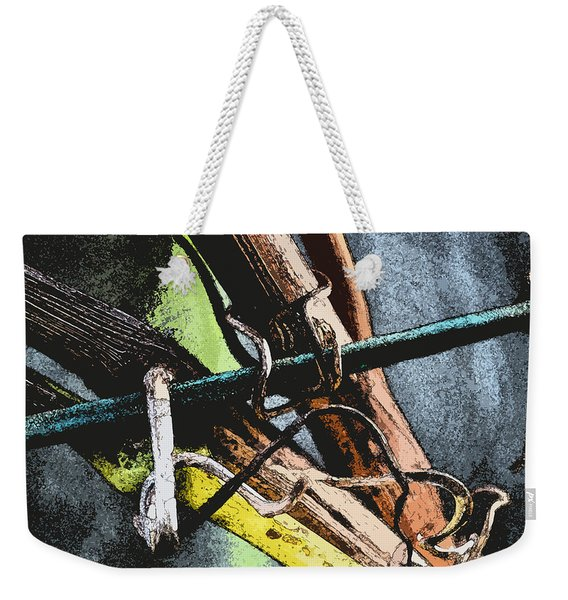 Wine Branches Weekender Tote Bag