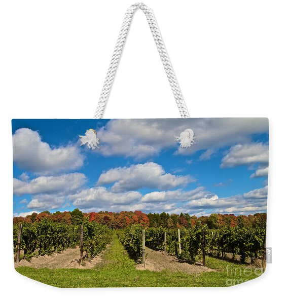 Wine In Waiting Weekender Tote Bag