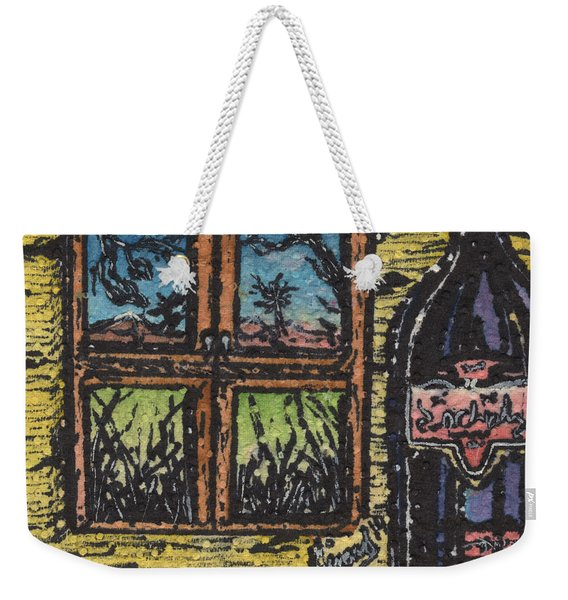 Wine With A View Weekender Tote Bag