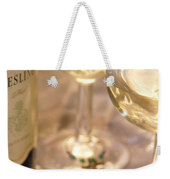 Wine With Friends Weekender Tote Bag