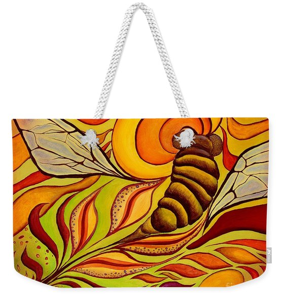 Wings Of Change Weekender Tote Bag