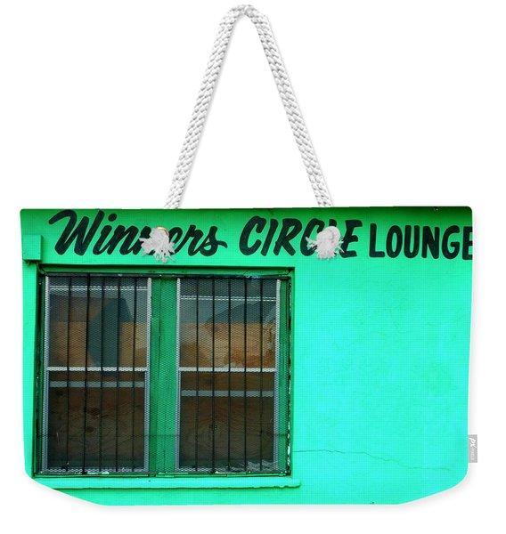Winner's Circle Lounge Weekender Tote Bag