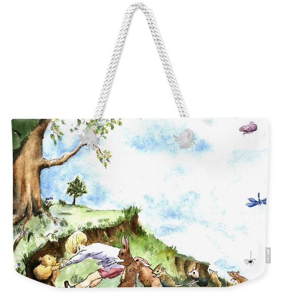 Helping Hands After E H Shepard Weekender Tote Bag