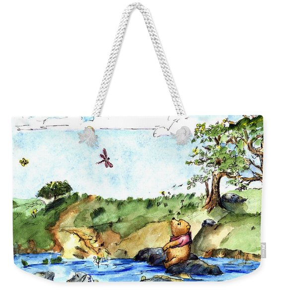 Imagining The Hunny  After E  H Shepard Weekender Tote Bag
