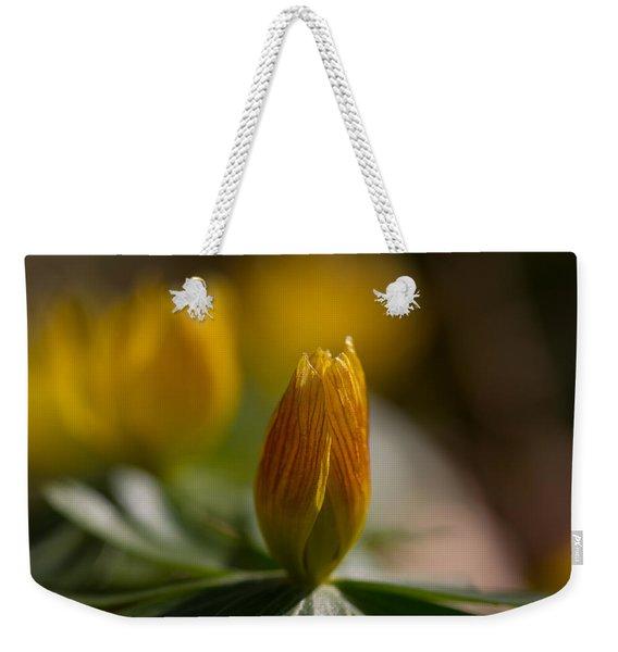 Winter Aconite Weekender Tote Bag