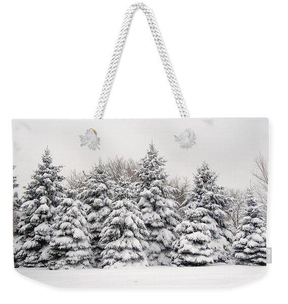 Winter Copse Weekender Tote Bag