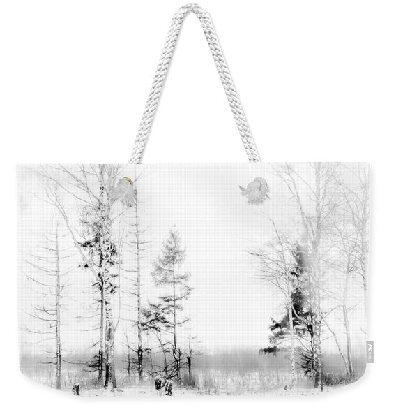 Winter Drawing Weekender Tote Bag