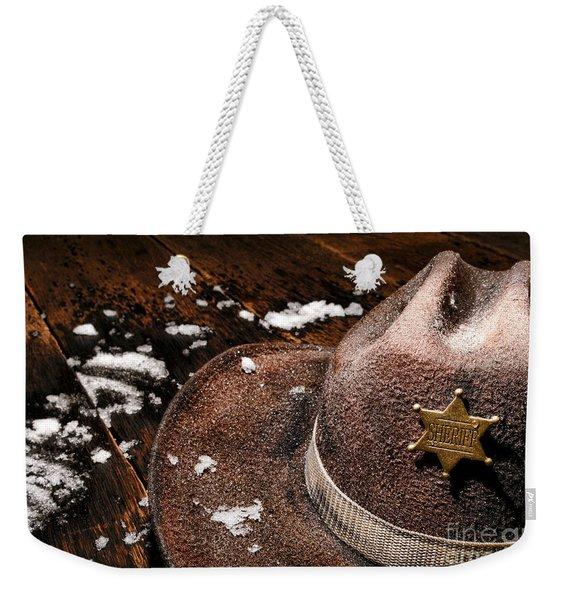 Winter Duty Weekender Tote Bag