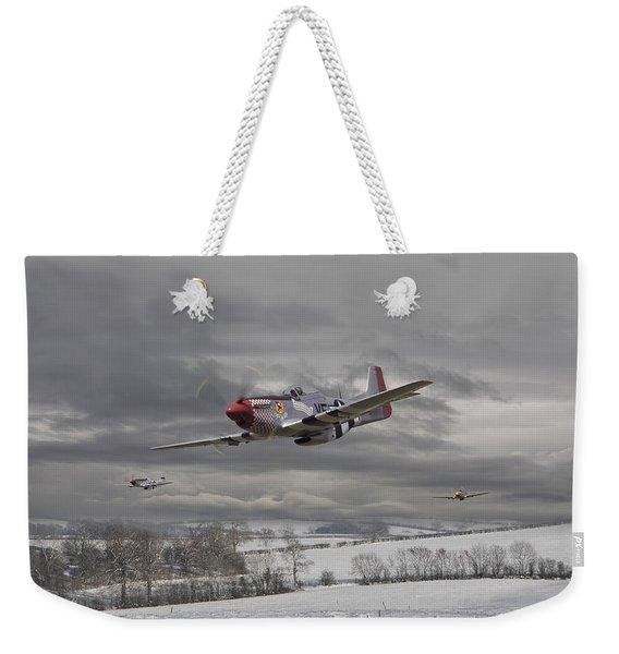 Winter Freedom Weekender Tote Bag