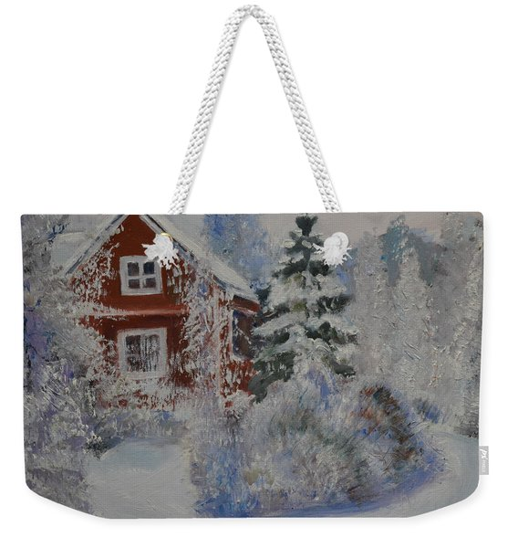 Winter In Finland Weekender Tote Bag