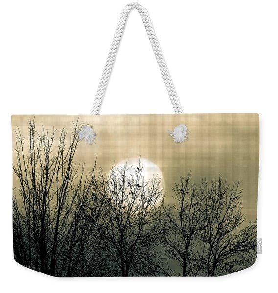 Winter Into Spring Weekender Tote Bag