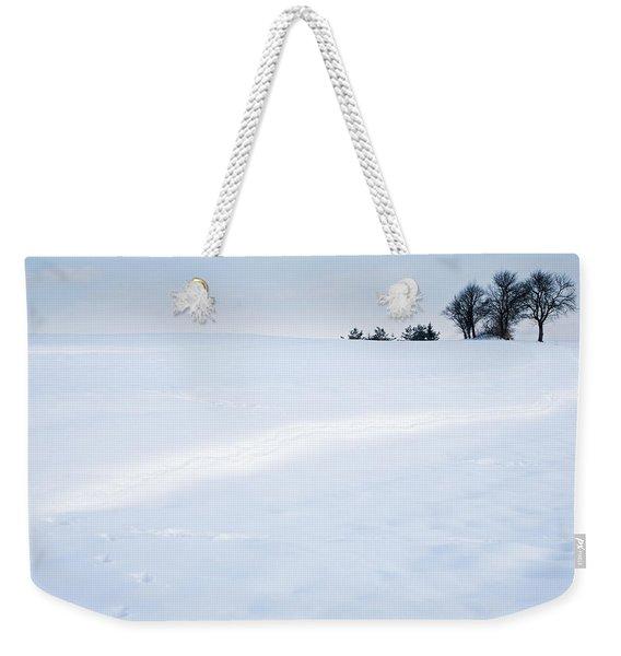 Winter Landscapes Weekender Tote Bag