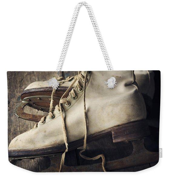 Winter Memories Weekender Tote Bag