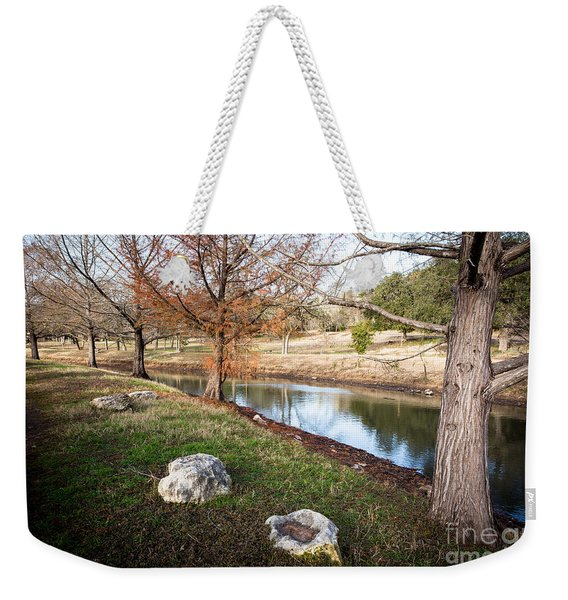 Weekender Tote Bag featuring the photograph Winter Trees by John Wadleigh