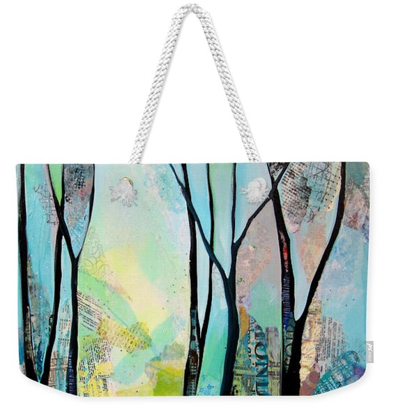 Winter Wanderings I Weekender Tote Bag