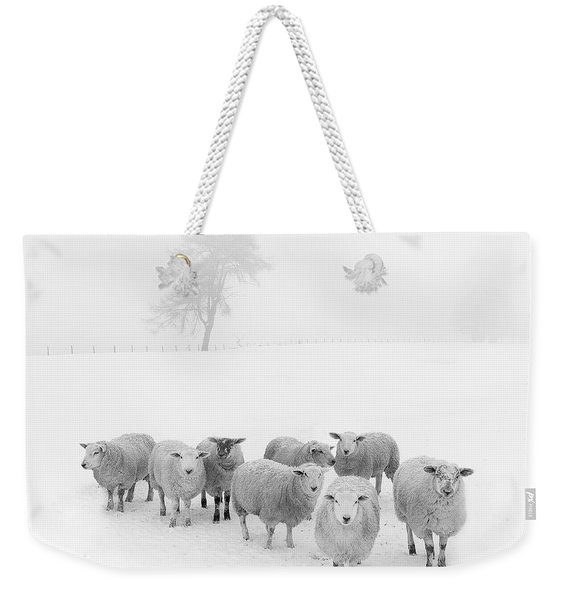 Winter Woollies Weekender Tote Bag