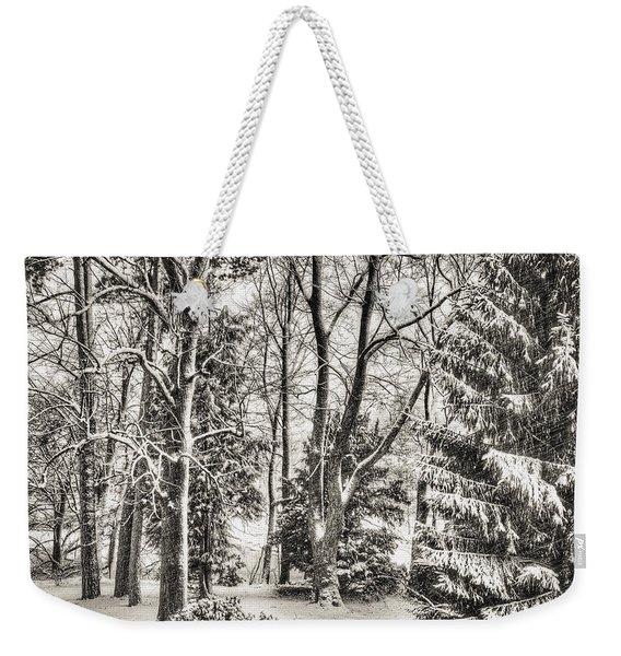 Winter Zauber 03 Weekender Tote Bag