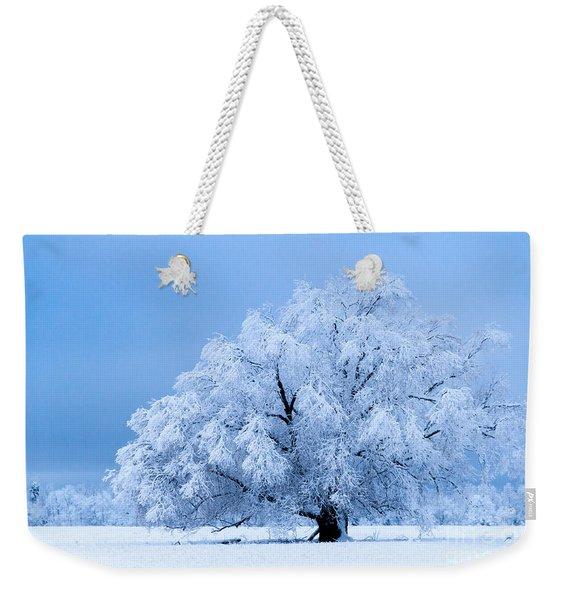 Winter's Majesty Weekender Tote Bag