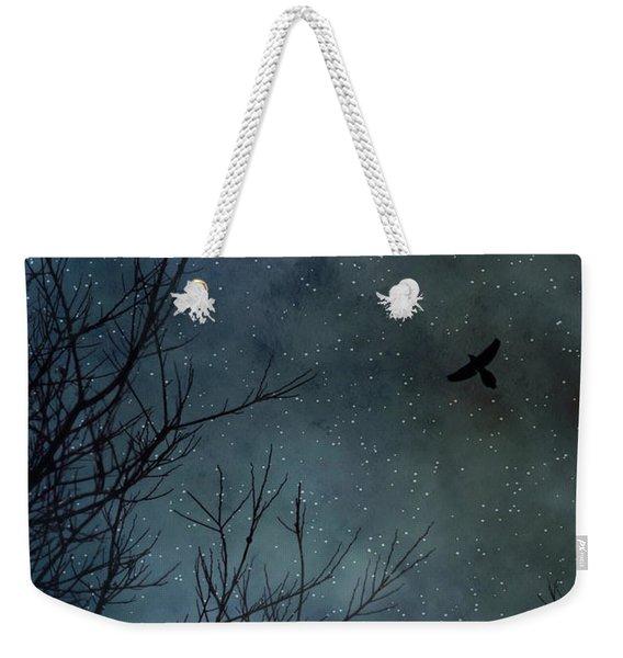 Winter's Silence Weekender Tote Bag