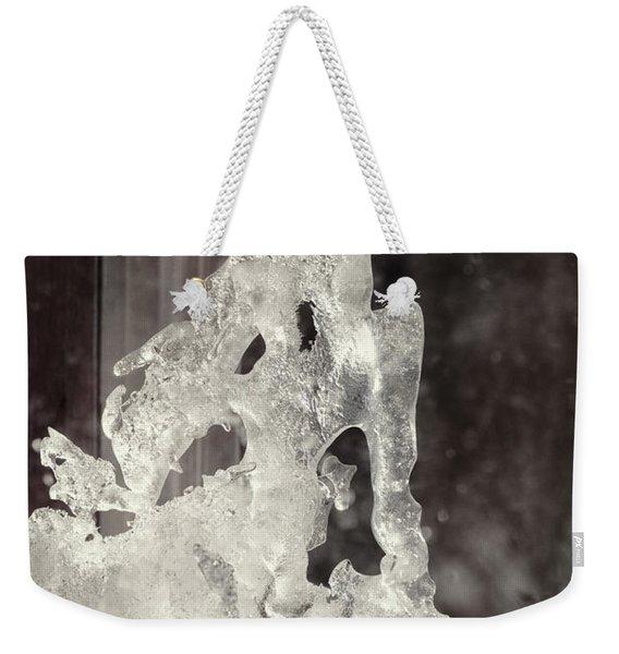 Winters Window Weekender Tote Bag