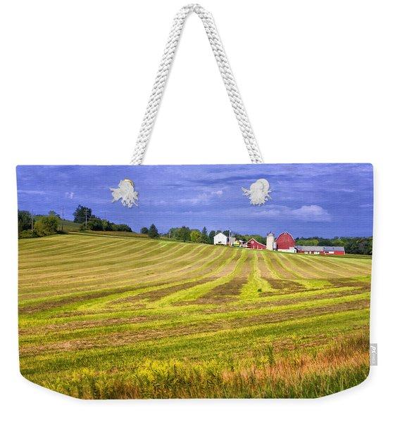Wisconsin Dawn Weekender Tote Bag