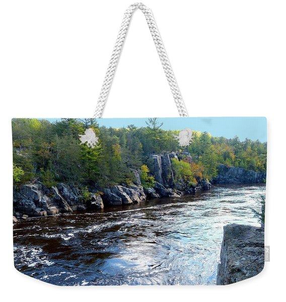 Wisconsin Shores 1 Weekender Tote Bag