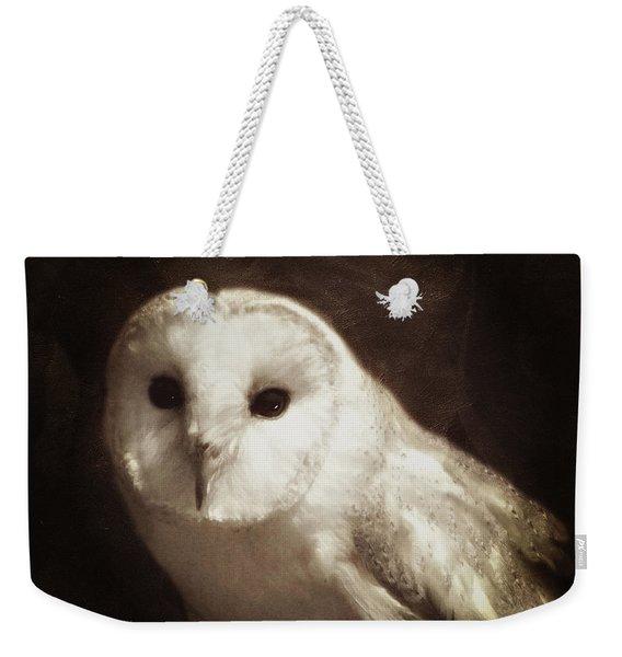Wisdom Of An Owl Weekender Tote Bag