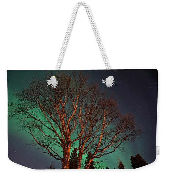 Weekender Tote Bag featuring the photograph Wish You Were Here by Doug Gibbons