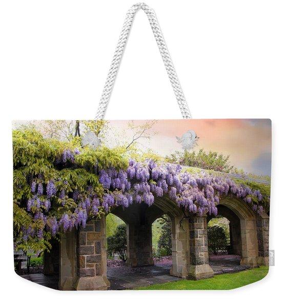 Wisteria In May Weekender Tote Bag