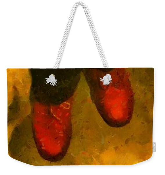 Witch Walking Weekender Tote Bag