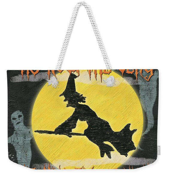 Witching Time Weekender Tote Bag